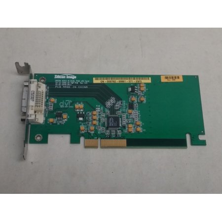Refurbished Dell/Silicon Image X8762  PCI Express x16  Orion ADD2-N Dual Pad Low Profile DVI Video Card (Low Profile Dual Dvi)