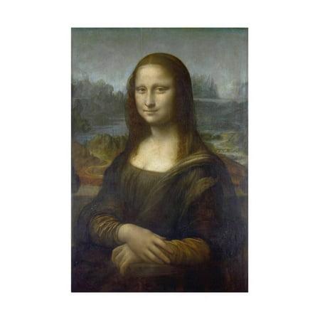 Mona Lisa by Leonardo Da Vinci Print Wall Art