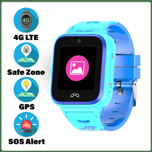 2020 Model 4G Kids Smartwatch Preinstalled SpeedTalk SIM