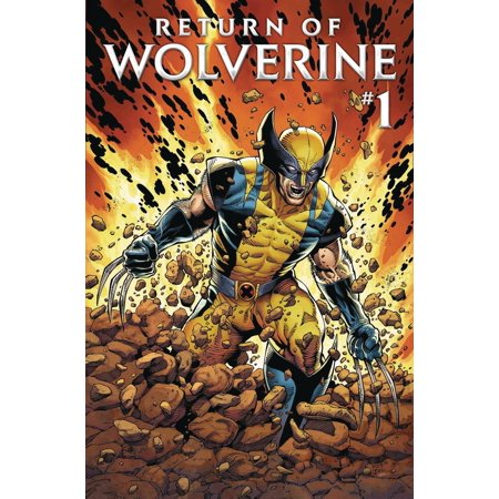 Marvel Return for Wolverine #1 (Marvel Wolverine Claws)
