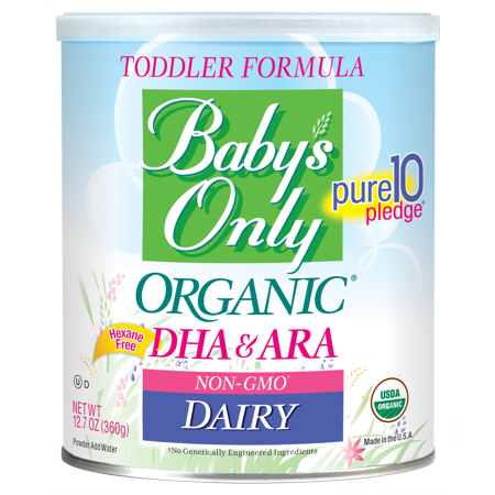 Baby's Only Organic Dairy with DHA & ARA Toddler Formula