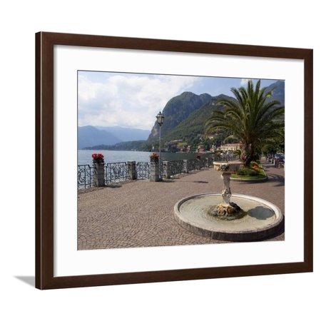Promenade, Menaggio, Lake Como, Lombardy, Italian Lakes, Italy, Europe Framed Print Wall Art By Frank (Promenade Mall Shops)