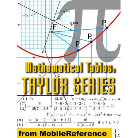 Mathematical Tables: Taylor (Maclaurin) Series (Mobi Study Guides) - eBook