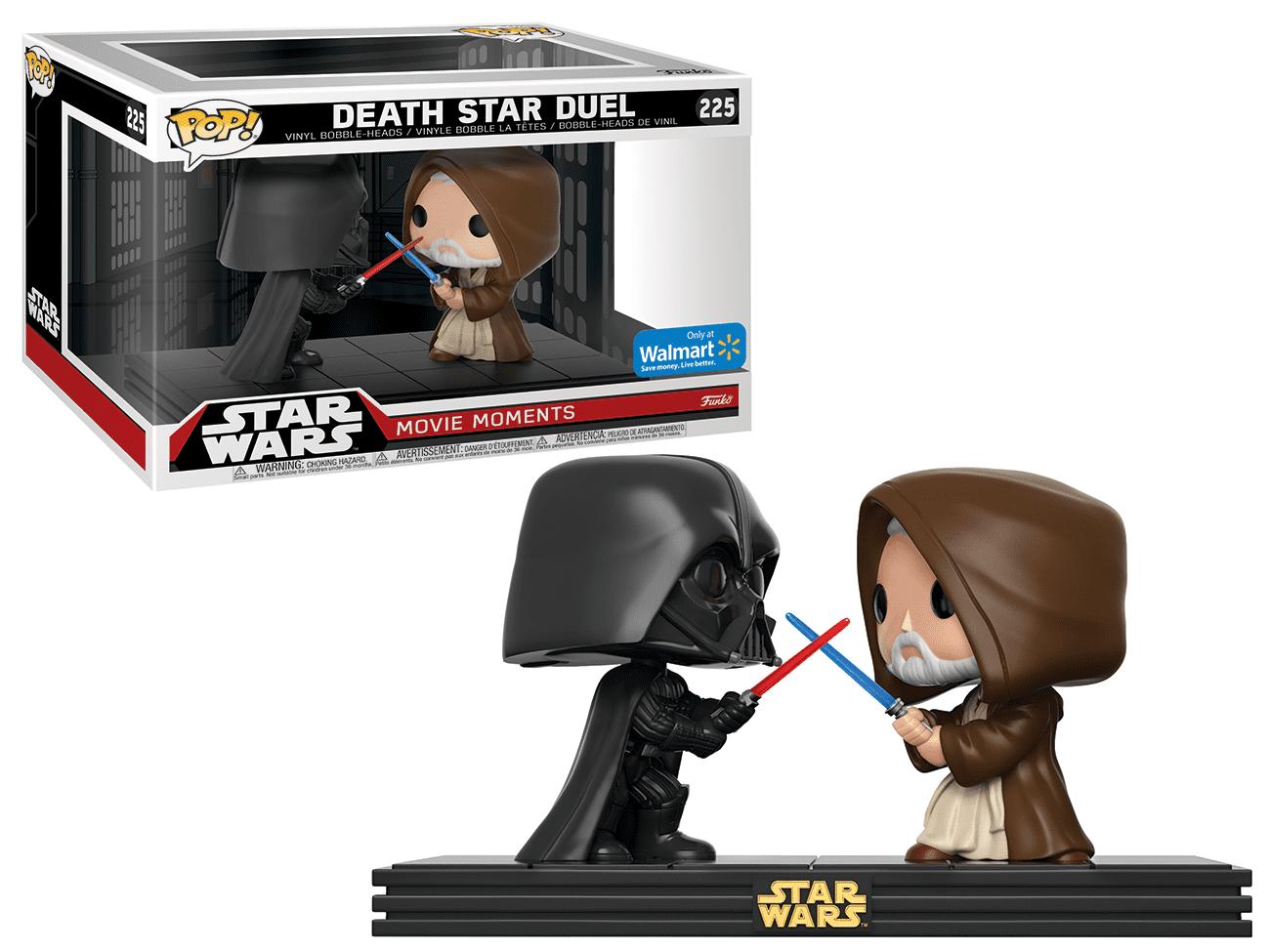 Funko POP! Star Wars: Movie Moments - Darth Vader vs. Obi Wan Kenobi Death Star - Walmart Exclusive