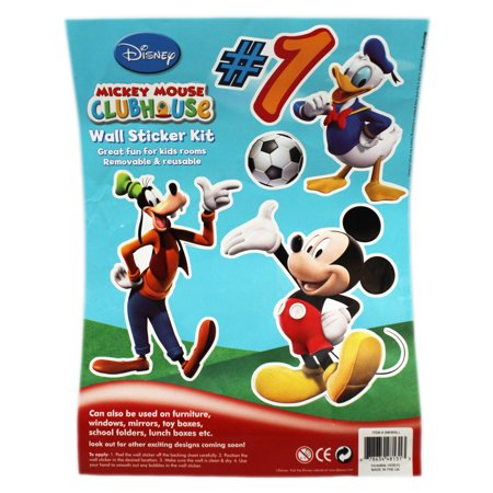 Mickey Mouse Clubhouse Mickey and Friends Large Wall - Mickey Mouse Clubhouse Wall