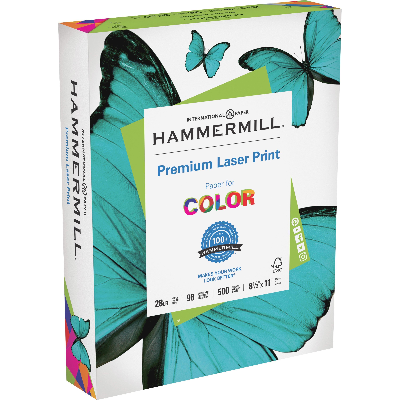 Hammermill, HAM125534, 28 lb Laser Print Paper, 500 / Ream, White