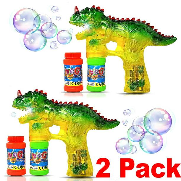 2 Dinosaur Bubble Machine Guns Blower Wand Light Up Toddler Toys Party Favors Juguetes Dinosaurios Walmart Com Walmart Com Conocer algo que nunca se ha vivido es una herramienta infalible cuando se trata de generar curiosidad e inquietud. 2 dinosaur bubble machine guns blower wand light up toddler toys party favors juguetes dinosaurios