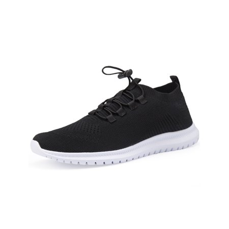 Men Women's Sneakers Running Shoes Ride Fitness Shoes Lightweight Breathable Mesh Shoes Elastic Buckle (Mens Fitness Shoes)