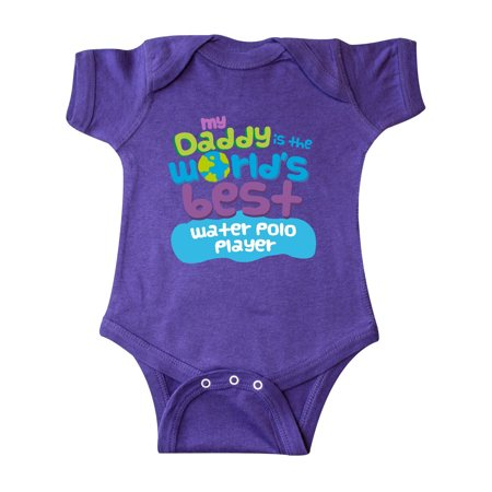 Inktastic My Daddy is the Worlds Best Water Polo Player Infant (Best Water Polo Player)
