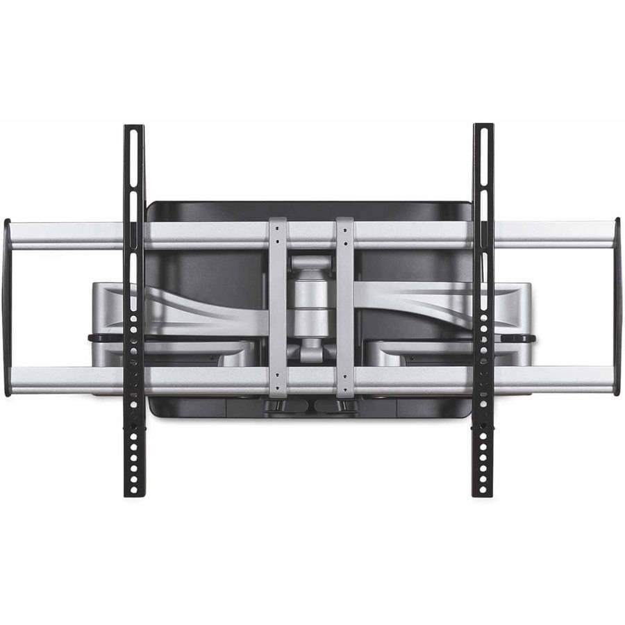 """BALT HG Articulating Flat Panel Wall Mounts, 34-1/4""""W x 21""""D x 20""""H, Silver/Black"""