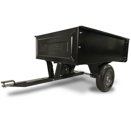 Agri-Fab Inc. 350 lb Steel Tow Behind Lawn and Garden Cart (Dump Trailer)