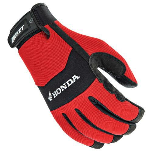 Joe Rocket Honda Crew Touch 2014 Textile Gloves Red/Black SM
