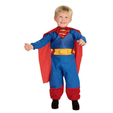 SUPERMAN TODDLER COSTUME - Man Of Steel Authentic Costume