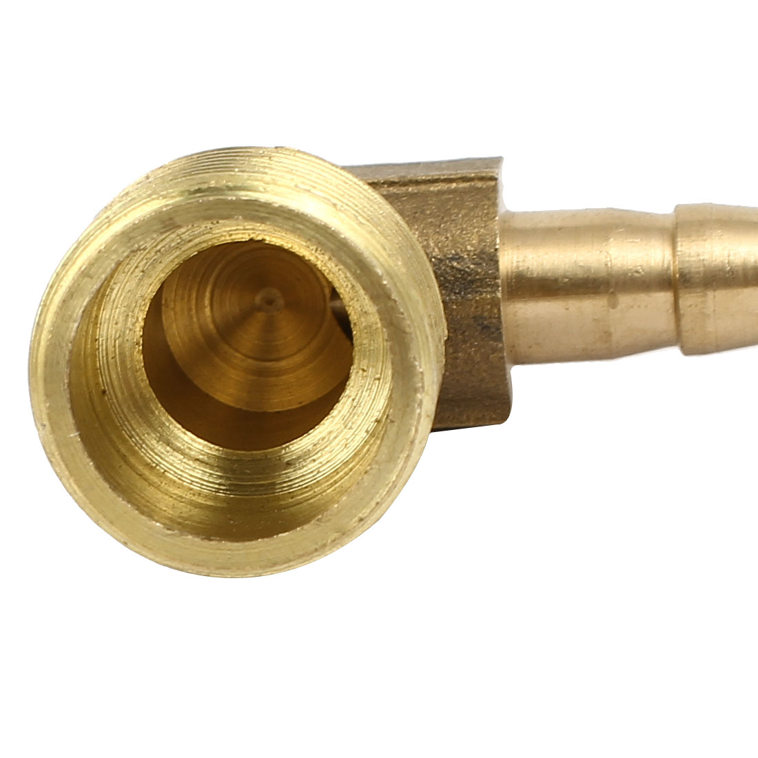 3/8BSP Male Thread 6mm Dia Brass Hose Barb Fittings Couplers Connectors 4pcs - image 2 of 4