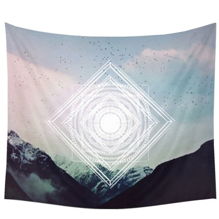 Meigar 55 X51 Wall Tapestry Hanging Indian Tapestry Art Nature