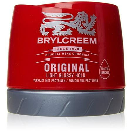 Brylcreem Original Men's Grooming Hair Cream 250ML Light Glossy (Brylcreem Gel Cream Light Non Greasy Hold)