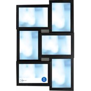 Mainstays 6-Opening Collage Frame, Black