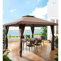Deals on MF Studio 13x13-FT Outdoor Gazebo Pop up Shade Canopy