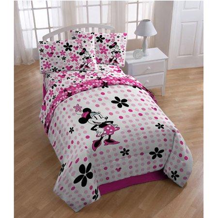 Disney Minnie Mouse Bedding Sheet Set Walmart Com