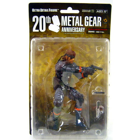 Metal Gear Solid Series 1 Snake Collectible Figure [MGS3] Collectible Figure Snake