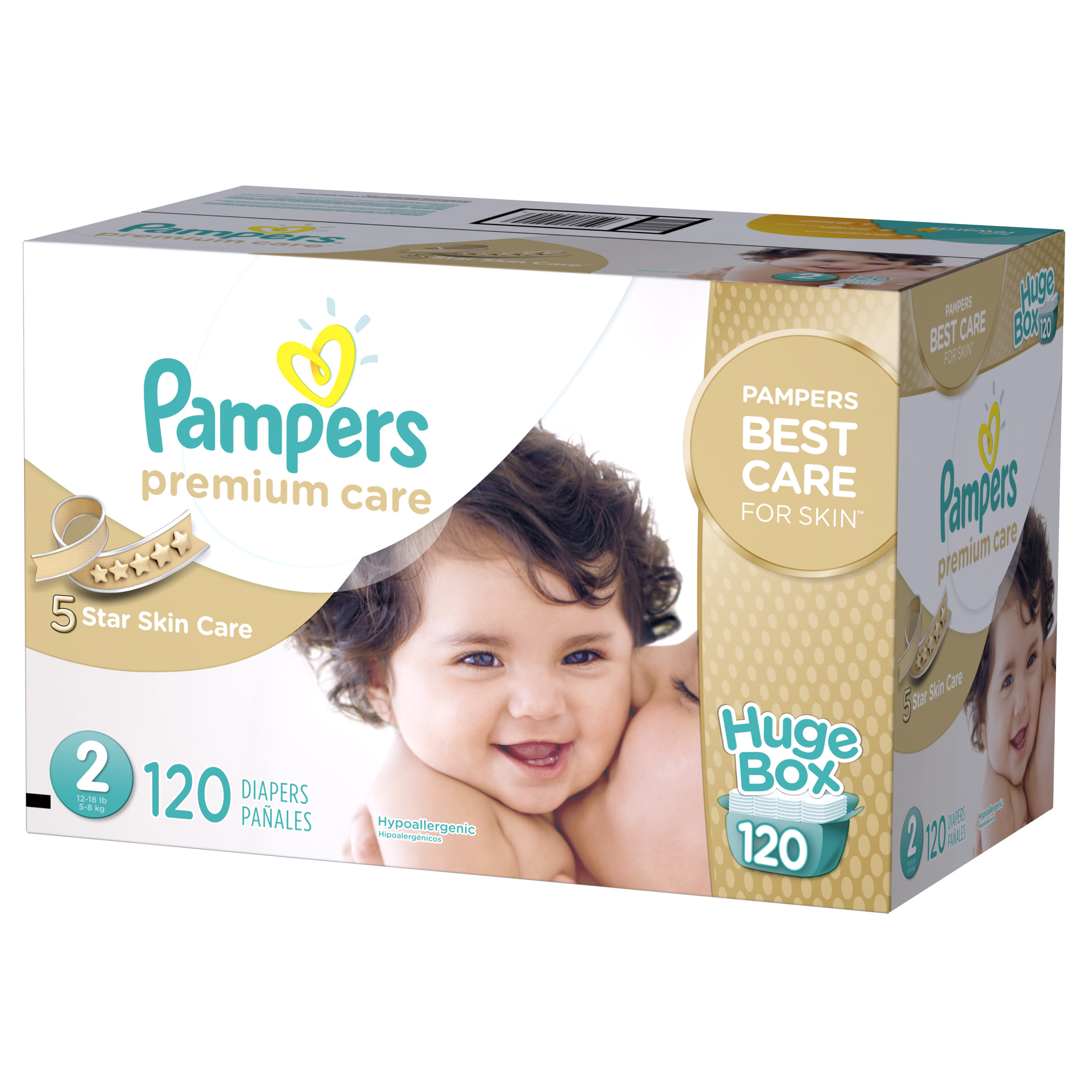 Pampers Premium Care Diapers (Choose Count) by Pampers