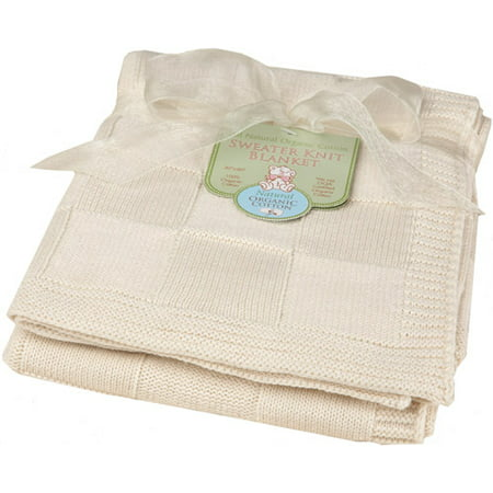 Image of ABC Organic Sweater Knit Blanket