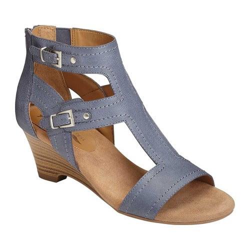 A2 by Aerosoles Maypole Wedge Sandal(Women's) -Tan Faux Leather