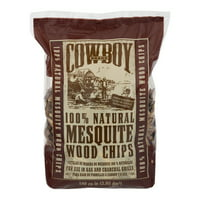 Cowboy Wood Chips Mesquite, 1.0 CT