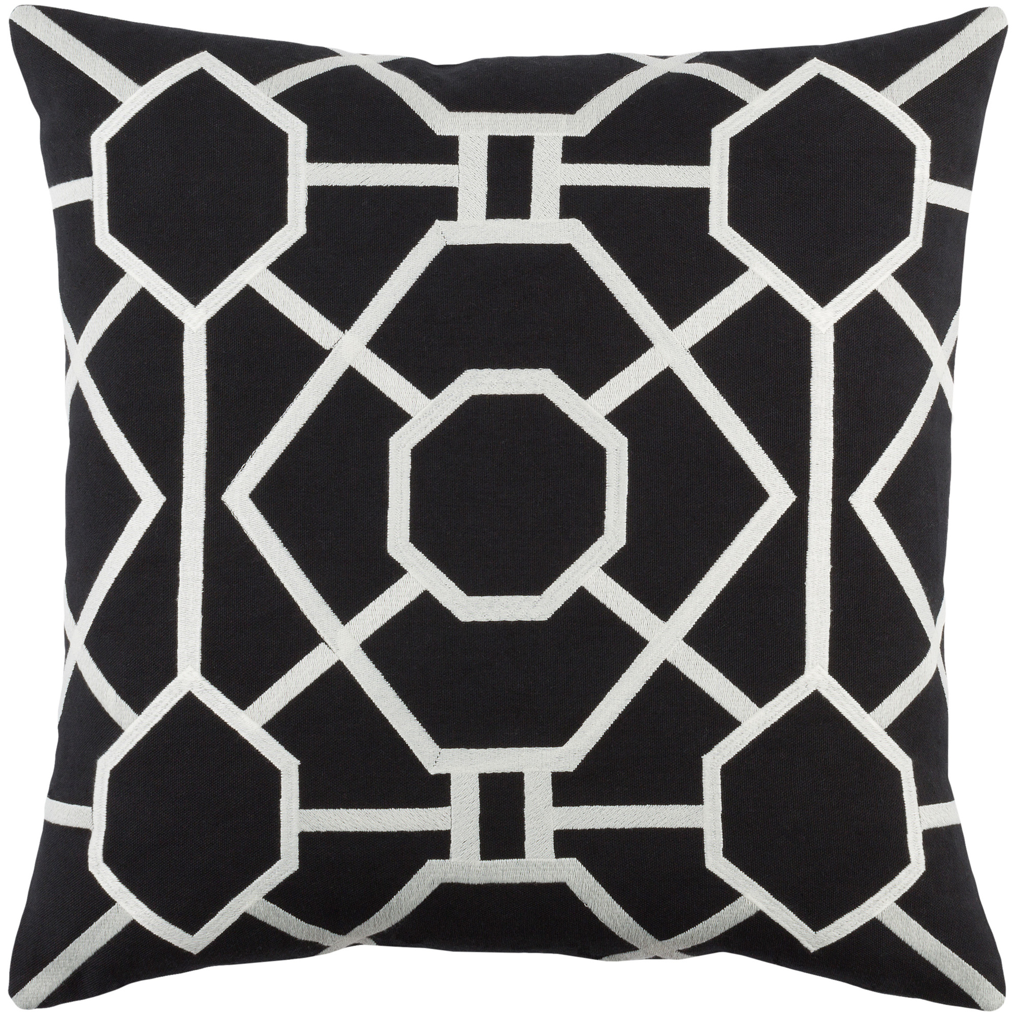 """Artistic Weavers Kingdom Porcelain 18"""" x 18"""" Pillow (with Down Fill)"""