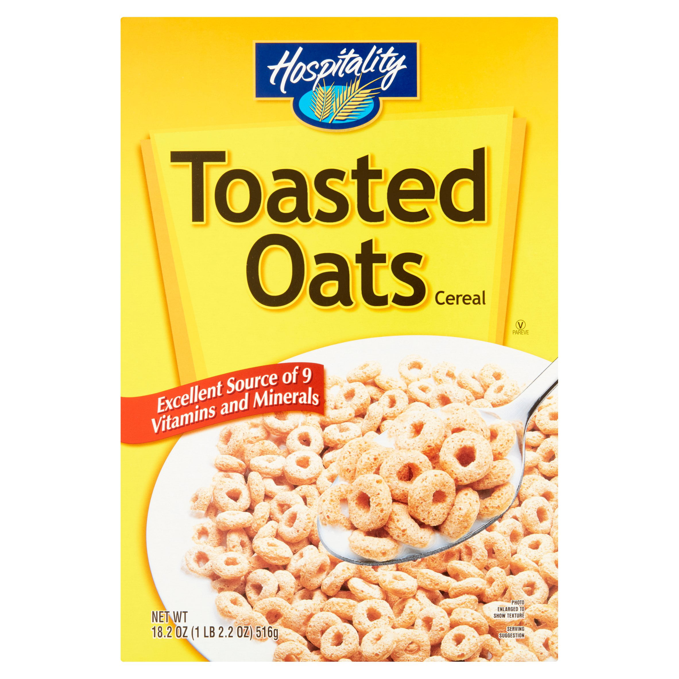 Hospitality Toasted Oats Cereal, 18.2 Oz
