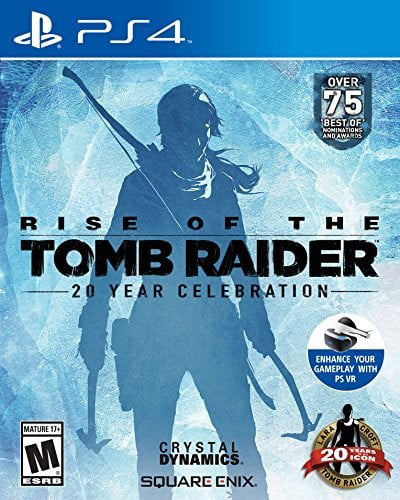 Rise of the Tomb Raider: 20 Year Celebration, Square Enix, PlayStation 4, 662248918921 by Square Enix