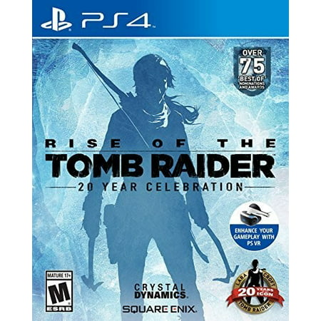 Rise of the Tomb Raider: 20 Year Celebration, Square Enix, PlayStation 4, (The Incredibles Rise Of The Underminer Ps2)