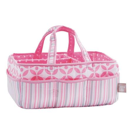 Trend Lab Storage Caddy, Lily Pink