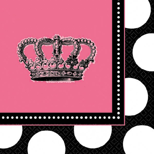 Princess Rocker Small Napkins (16ct)