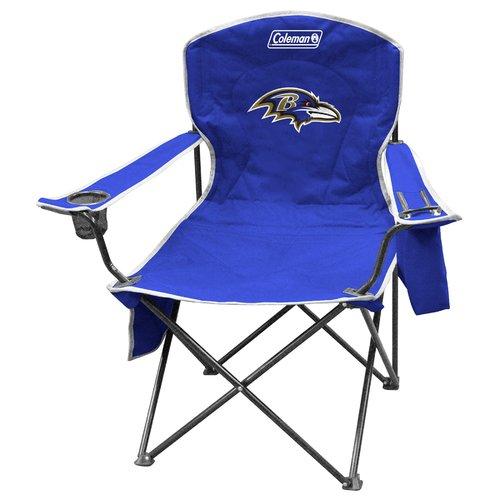 Captivating Coleman Quad Chair With 4  To 6 Can Cooler, Baltimore Ravens