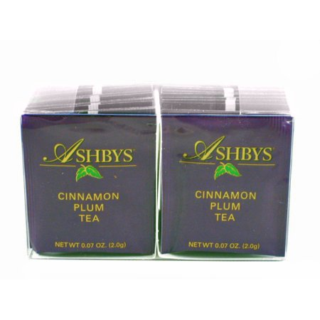 Ashbys Cinnamon Plum Tea Bags, 20 Count Box