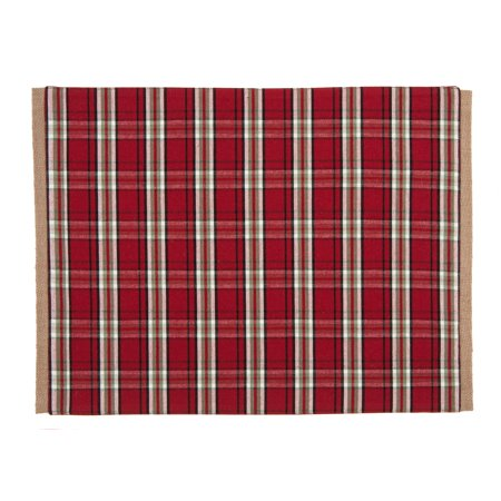 Better Homes And Gardens Holiday Red Plaid Placemat