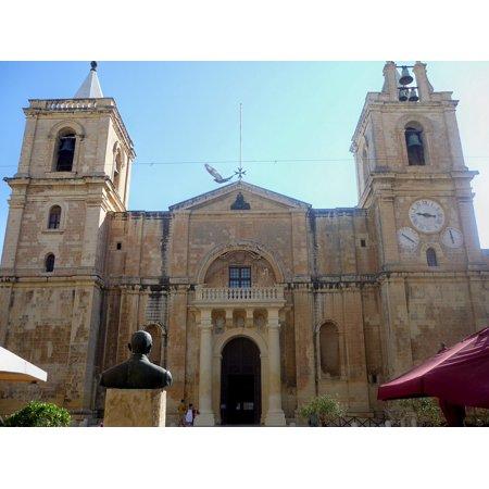 Maytag Frame (Framed Art for Your Wall St John Cathedral Valetta Church Malta 10x13 Frame)