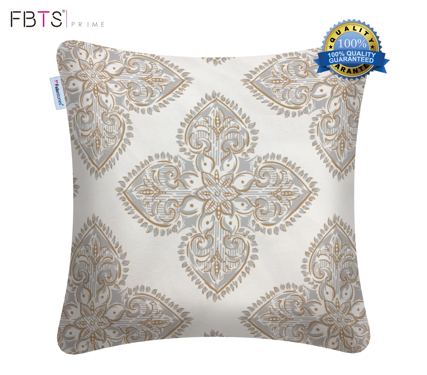 100 Cotton Throw Pillow Covers White 18 X 18 Inches
