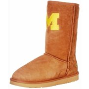 Gameday Boots Womens University Michigan Roadie Hickory MIC-RL1010-1