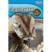 Time for Kids(r) Nonfiction Readers: Serpientes de Cerca (Snakes Up Close) (Spanish Version) (Paperback)