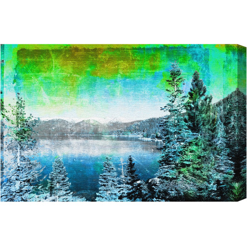 Loon Peak Lake Tahoe Photographic Print on Wrapped Canvas
