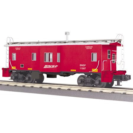 - MTH 30-77272 O Burlington Northern Santa Fe Bay Window Caboose #11997