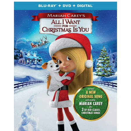 Mariah Carey's: All I Want For Christmas Is You (Blu-ray + DVD + Digital) ()