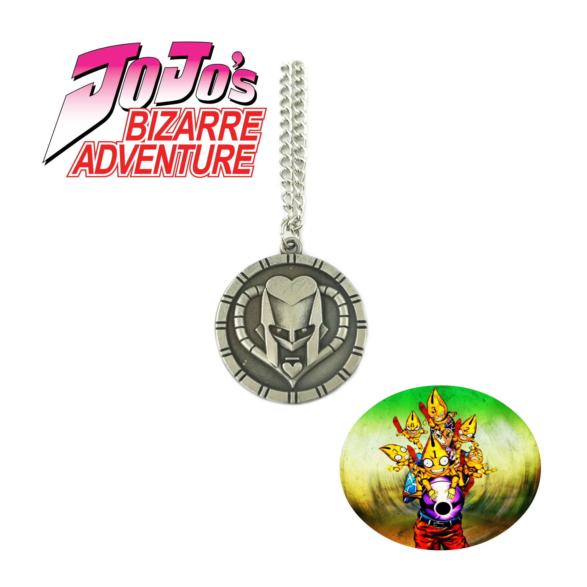 Superheroes Jojo S Bizarre Adventure Necklace Pendant Head Circle Anime Manga Game Tv Series Cosplay By Superheroes Walmart Com Walmart Com Replaces the throwable javelin spear weapon from gage chivalry pack with the requiem stand arrow from jojo's bizarre adventure: walmart