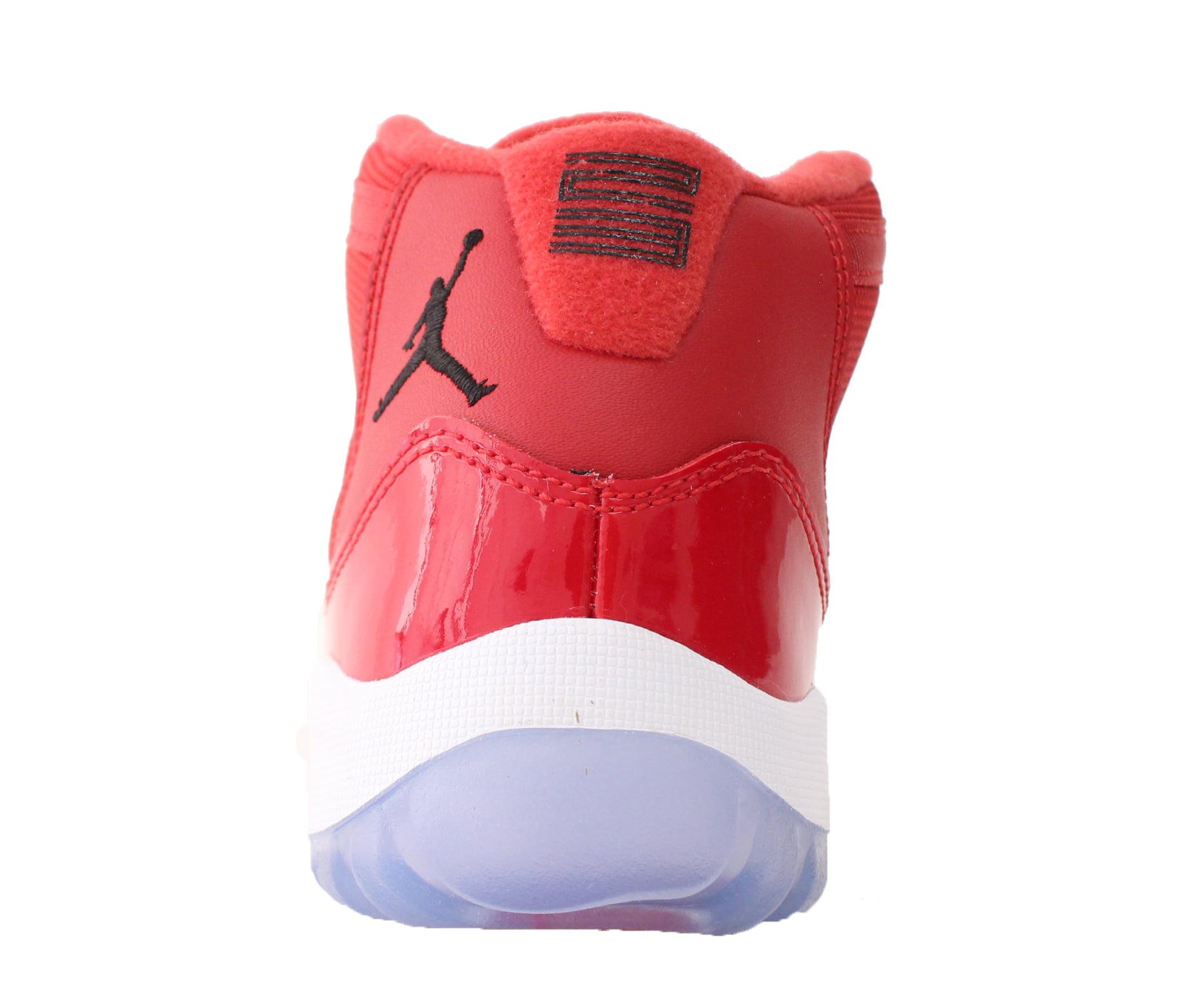 24a5f9b214264f Jordan - AIR JORDAN RETRO 11 XI RETRO PS SZ 1.5 Y WIN LIKE 96 GYM RED WHITE  378039 623 - Walmart.com