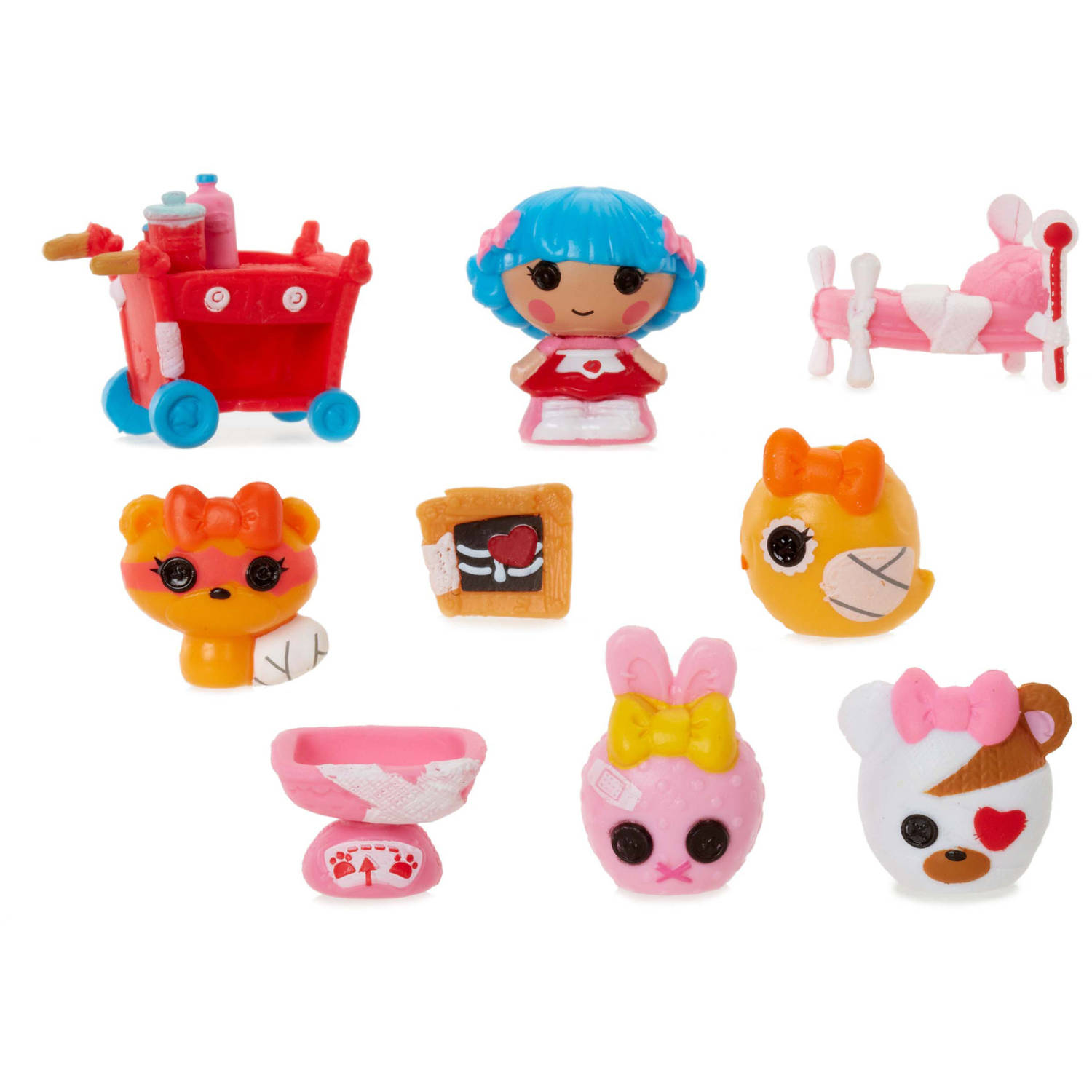 Lalaloopsy Tinies 10 Pack Series 5, Rosy's Pet Hospital