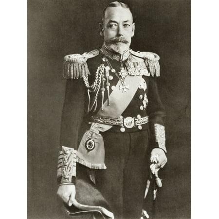 Posterazzi George V George Frederick Ernest Albert 1865 Canvas Art - Ken Welsh Design Pics (26 x 34)