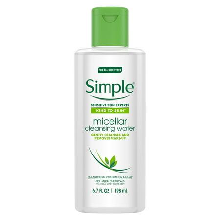 (2 pack) Simple Kind to Skin Cleansing Water Micellar 6.7 oz