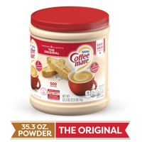 COFFEE MATE The Original Powder Coffee Creamer 35.3 Oz. Canister Non-dairy Lactose Free Gluten Free Creamer